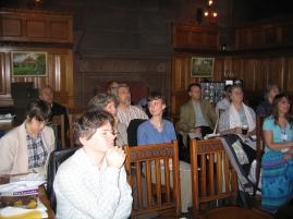 AGM 2007 (Manchester) Listening: in the Seminar Room at the Deansgate Building